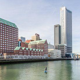 Spoorweghaven et S. van Ravesteynkade à Rotterdam sur Tony Buijse