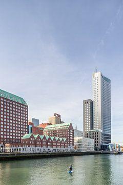Spoorweghaven und S. van Ravesteynkade in Rotterdam von Tony Buijse