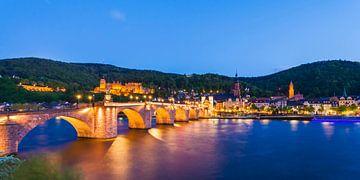 Heidelberg la nuit sur Werner Dieterich