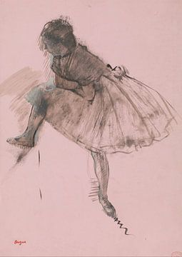 Studie eines Balletttänzer, Edgar Degas
