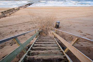 Strandopgang in Domburg van Jacqueline Lodder