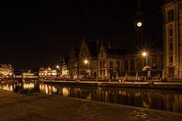 Zomeravond in Gent_02 van Alfred Meester
