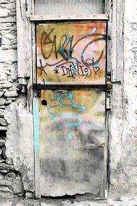 ONE DOOR AT PLAKA-ATHENS