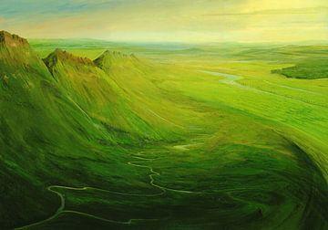 Dynamische Landschaft van Silvian Sternhagel