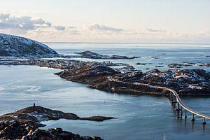 Zomer eiland, Noord Noorwegen van Ilse Hofman