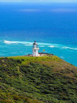 Cape Reinga Nieuw Zeeland van Sanne Bakker