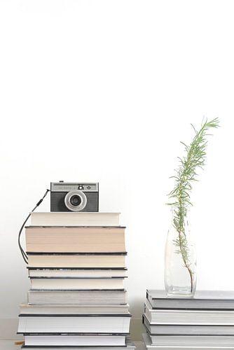 stilleven boekenstapel