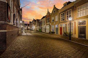 Dordrecht Gevels Hofstraat van