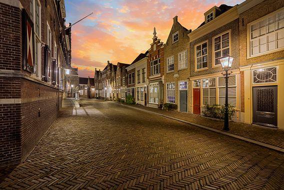 Dordrecht Gevels Hofstraat van Peter Bolman