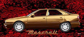 Maserati Quattroporte IV in copper