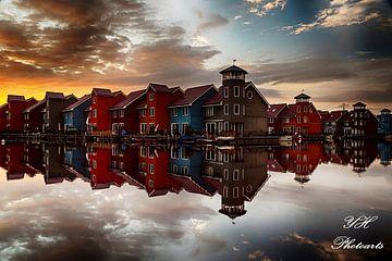 Reitdiep Groningen van YH photoarts