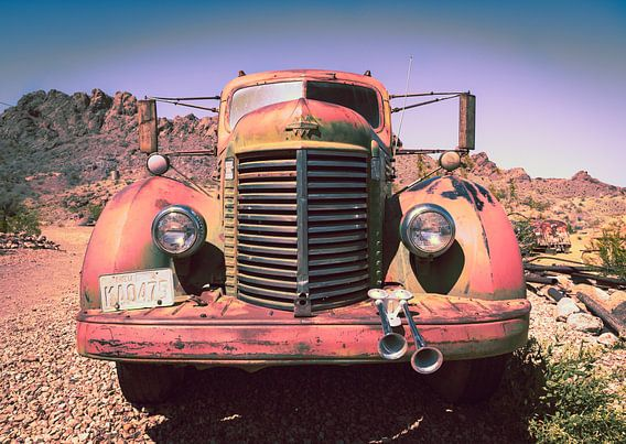 Oude International auto van Inge van den Brande