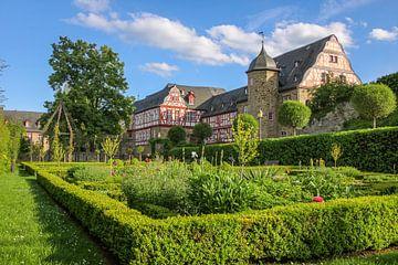 Rosengarten der Burg Idstein van Christian Müringer