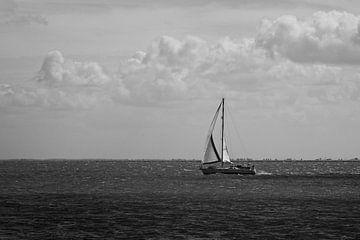 Segelboot von Bert Broekhuis