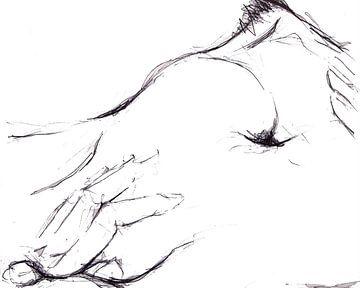 Beide Hände auf meinem Bauch von Anita Snik-Broeken