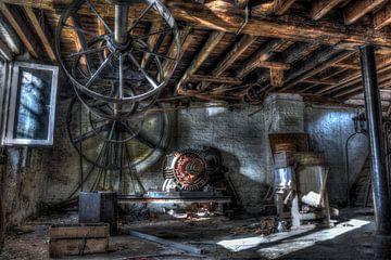 Urbex: oude molen van Jarno De Smedt