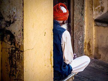 Der unbekannte Mann in Jaipur von Rik Pijnenburg
