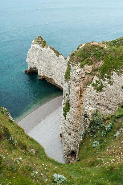 De kliffen van Normandië
