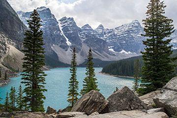 Lac Moraine, Canada sur Claudia Esveldt