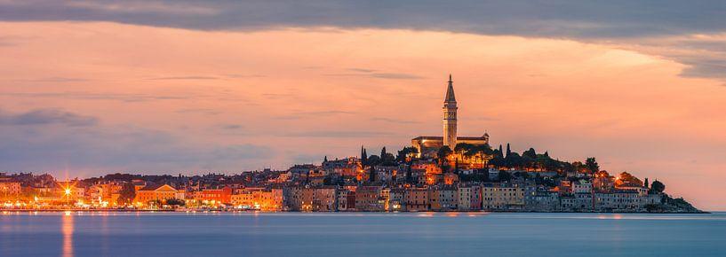 Rovinj is a city on the Istrian peninsula, Croatia van Henk Meijer Photography
