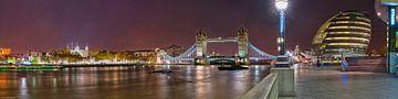 London Bridge Panorama van Bob de Bruin