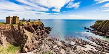 Le château de Dunnotar en Écosse sur Werner Dieterich
