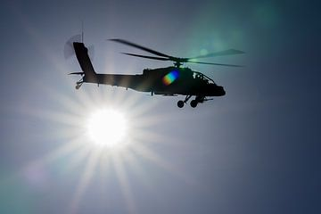 RNLAF AH-64D Apache Sunshine von Marc Hederik