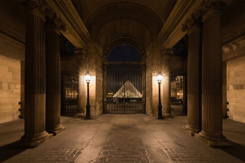 Het Louvre Museum in Parijs van MS Fotografie   Marc van der Stelt