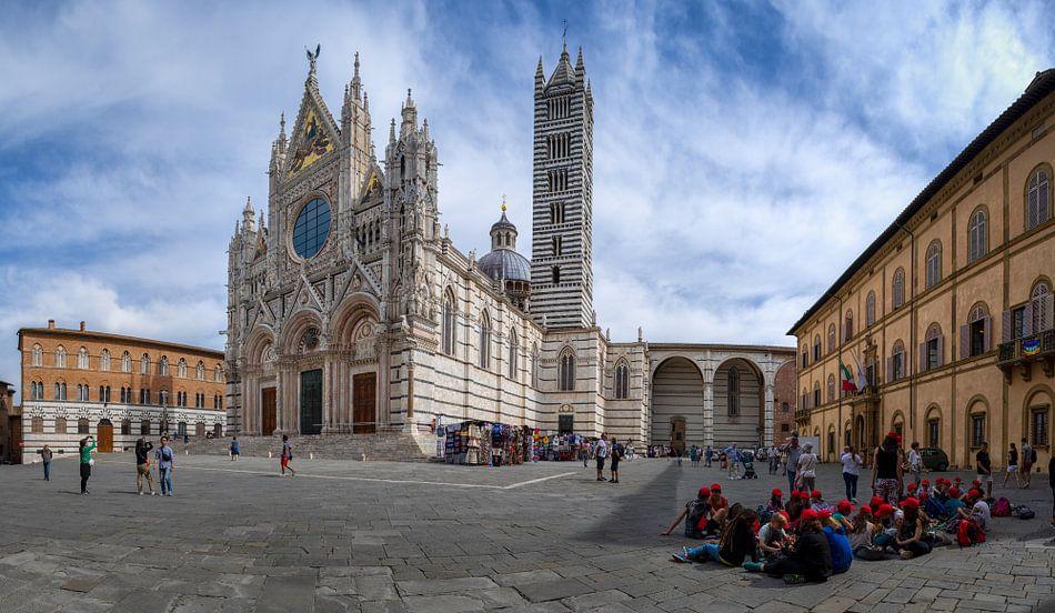 Duomo di Siena van Teun Ruijters