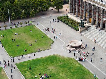 Berlijn Lustgarten en Altes Museum van Jeroen Götz