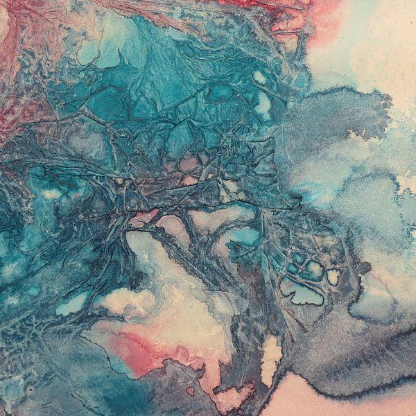Pink Blue van Helma van der Zwan