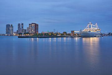 Blik op Rotterdam Zuid van EdsCaptures fotografie