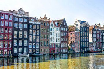 Damrak Amsterdam van Hendrik-Jan Kornelis