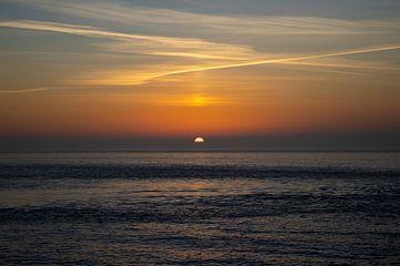 Sonnenuntergang in Den Helder von Marnix Pro
