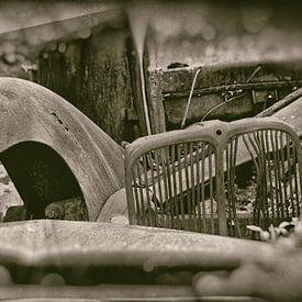 Autowrak Oldsmobile van Gerda H.