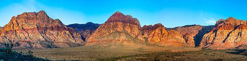 Red Rock Canyon zonsopkomst - Las Vegas van Remco Bosshard