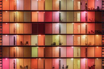 Kleurrijke architectuur in Rotterdam van Vincent Fennis