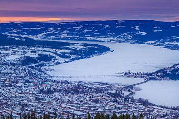 Lillehammer in de winter van Hamperium Photography