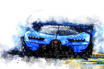 Bugatti Veyron von Theodor Decker