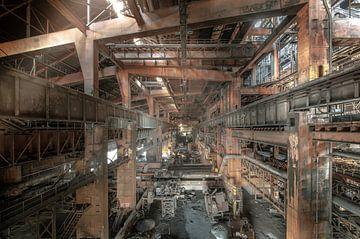 Stahlwerk Urbex von Olivier Van Cauwelaert