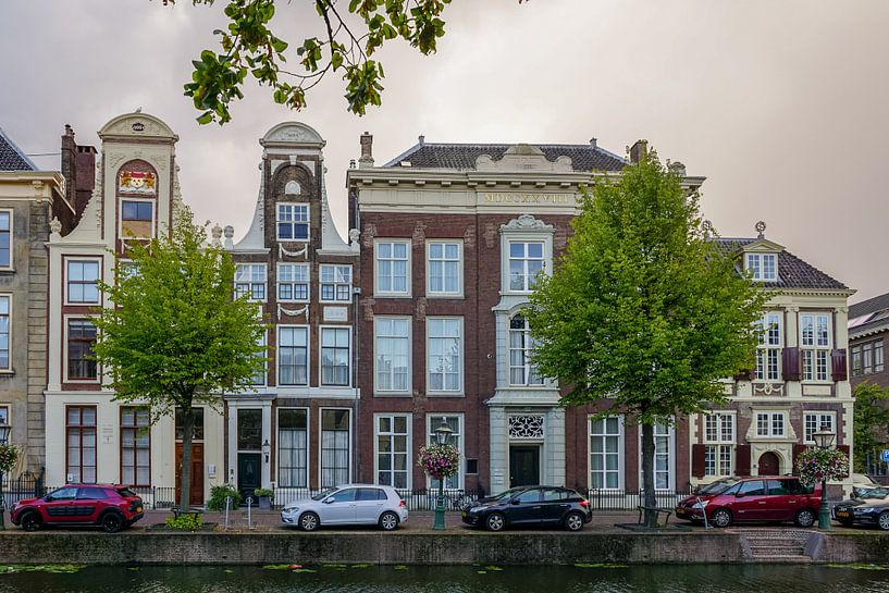Langs het Rapenburg in Leiden van Dirk van Egmond