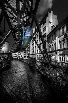 Schwebebahn Wuppertal von Jens Korte