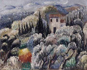 Spätnachmittag (Haus im Olivenhain), Paul Kleinschmidt,  1939 von Atelier Liesjes