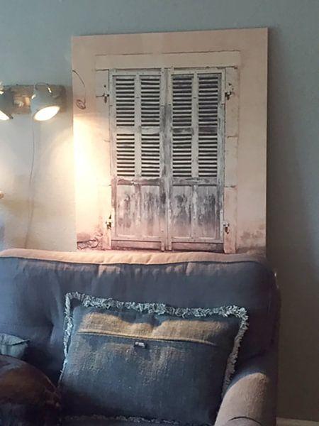 Klantfoto: Oude deuren Frankrijk (VT Wonen) van Gijs de Kruijf, op hout