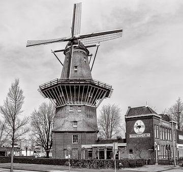 Molen  de Gooyer en Brouwerij het IJ. sur