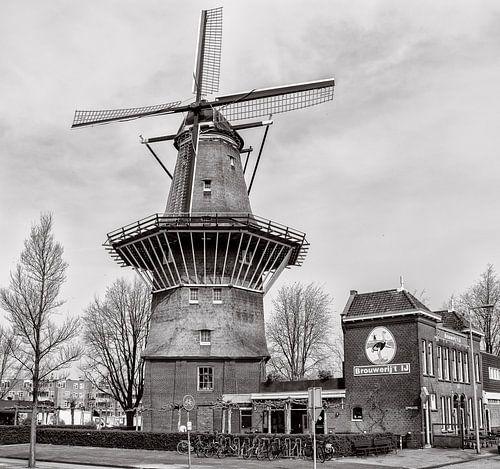 Molen  de Gooyer en Brouwerij het IJ.