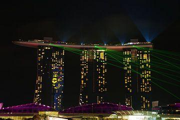 Marina Bay Sands laser show van Martin de Hoog