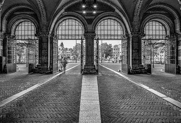 Porte d'entrée du Rijksmuseum sur Robert van Walsem