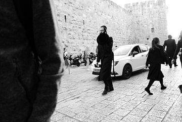 Jerusalem - Straßenleben von Maurice Weststrate