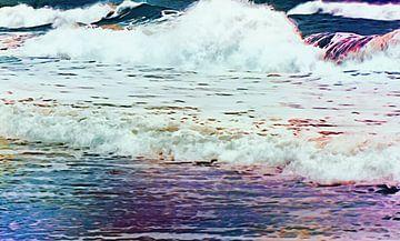 Waves von Nannie van der Wal